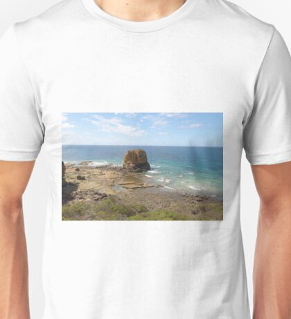 Cathedral Rock! Aireys Inlet, Grt. Ocean Road. Victoria.  Unisex T-Shirt