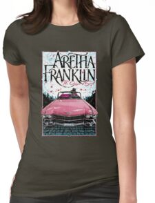 Aretha Franklin. The Queen of Soul Womens Fitted T-Shirt