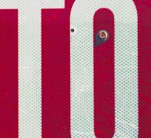 Stop Trump Sign  Sticker