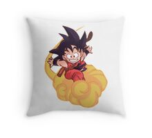 chibi goku Throw Pillow