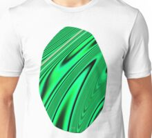 Abstract Fractal Colorways 03 Malalchite  Unisex T-Shirt