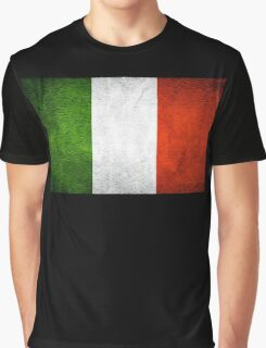 Italian Flag Graphic T-Shirt