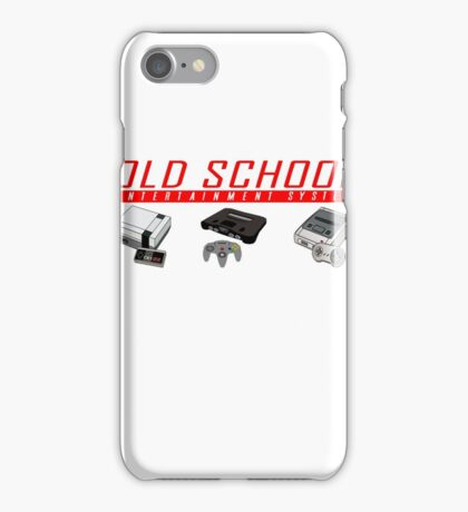 Old School System Entertainment iPhone Case/Skin