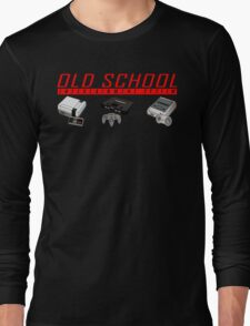 Old School System Entertainment Long Sleeve T-Shirt
