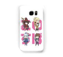 KonoSuba Chibi Characters - Kono Subarashii Sekai ni Shukufuku wo! Samsung Galaxy Case/Skin