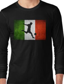 Italian Soccer Long Sleeve T-Shirt