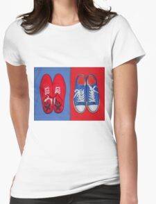 Two Pair Womens Fitted T-Shirt