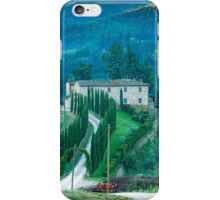 Farmhouse in Tuscany iPhone Case/Skin