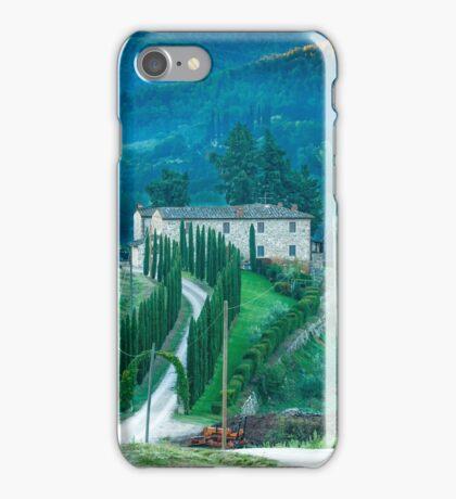 Farmhouse in Tuscany iPhone Case/Skin