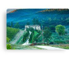Farmhouse in Tuscany Canvas Print