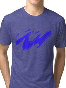 Blue Splash Tri-blend T-Shirt