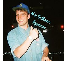 Mac DeMarco Approves  Photographic Print