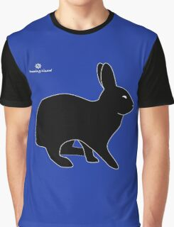 Sly Rabbit Silhouette Graphic T-Shirt