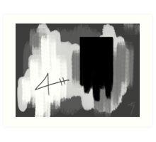 I Am Elswhere... Art Print