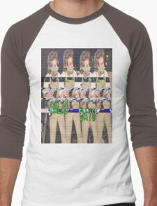 Salad Days Glitch Men's Baseball ¾ T-Shirt