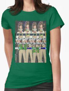 Salad Days Glitch Womens Fitted T-Shirt