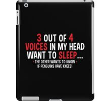 voices penguin iPad Case/Skin