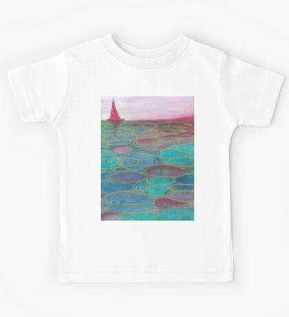 Sunset sea  Kids Tee