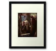 dreaming of stardom Framed Print