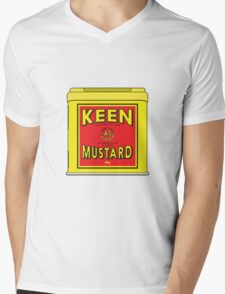 As Keen As Mustard Mens V-Neck T-Shirt