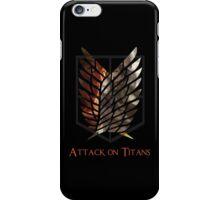 Survey Corps - Titans iPhone Case/Skin
