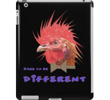Dare to Be Different on Black iPad Case/Skin