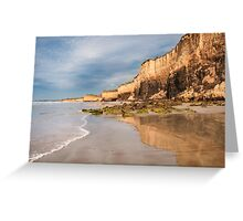 Demon's Bluff,Anglesea,Great Ocean Road.  Greeting Card