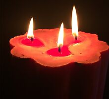 Light A Three Way Candle by bloomingvine