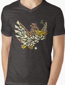 Scribble Farfetch'd Mens V-Neck T-Shirt