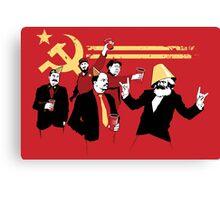 Celebrate communism in heaven Canvas Print