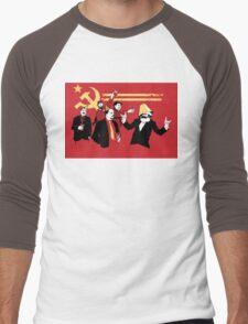 Celebrate communism in heaven Men's Baseball ¾ T-Shirt