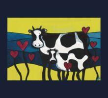 Hearty Cows  Kids Tee