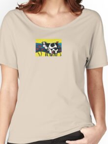 Hearty Cows  Women's Relaxed Fit T-Shirt