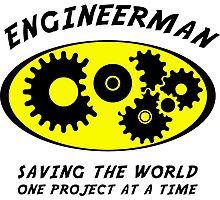 Engineerman Photographic Print