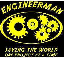 Engineerman Photographic Print