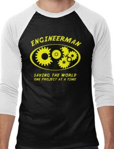 Engineerman Men's Baseball ¾ T-Shirt