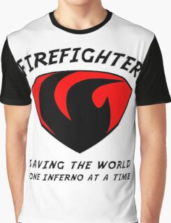 Firefighter Graphic T-Shirt