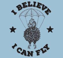 I Believe I Can Fly Kids Tee
