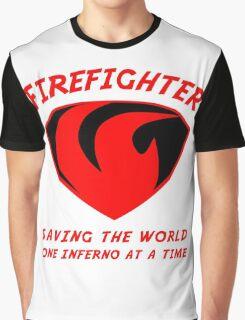 Firefighter Graphic T-Shirt