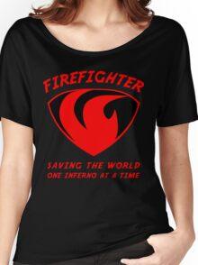 Firefighter Women's Relaxed Fit T-Shirt