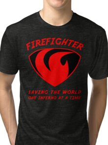 Firefighter Tri-blend T-Shirt