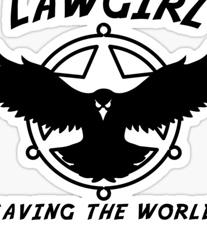 Lawgirl Sticker