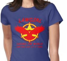 Lawgirl Womens Fitted T-Shirt