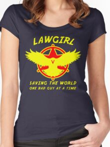 Lawgirl Women's Fitted Scoop T-Shirt