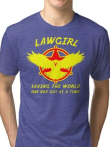 Lawgirl Tri-blend T-Shirt