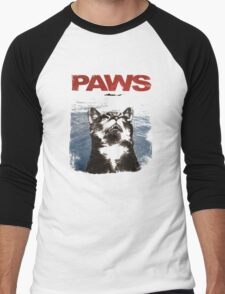 Paws Men's Baseball ¾ T-Shirt