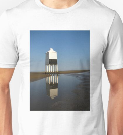 'Lighthouse Reflections', Burnham on Sea, Somerset Unisex T-Shirt