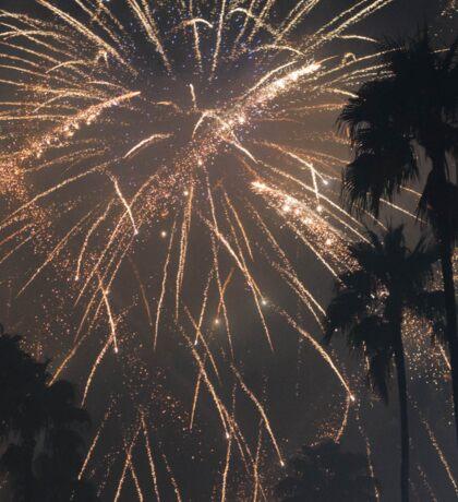 Fireworks Over Hollywood Sticker