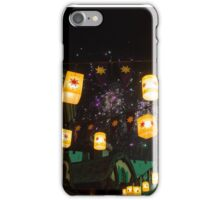 Lanterns and Fireworks iPhone Case/Skin