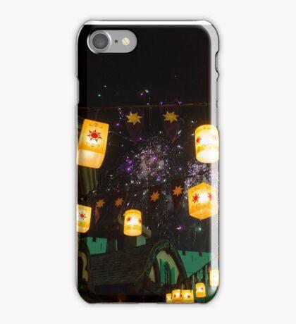 Lanterns and Fireworks iPhone Case/Skin